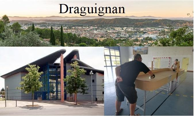 Inauguration d'un nouveau club de Showdown à Draguignan (Var)